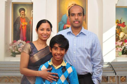 Aji Palappillil and Family