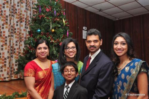 John Mathai and family
