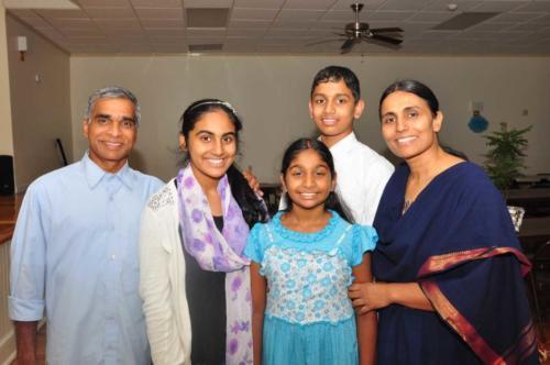 John Paily and family
