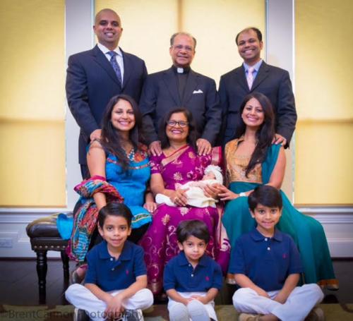 Paulose Achen Family Photo