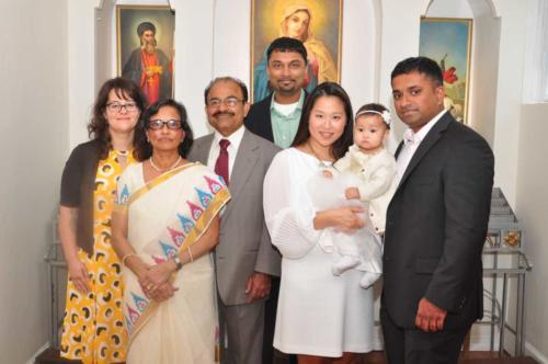 Varghese Thomas and Family
