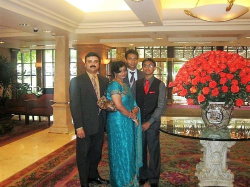 Wilson Daniel and Family